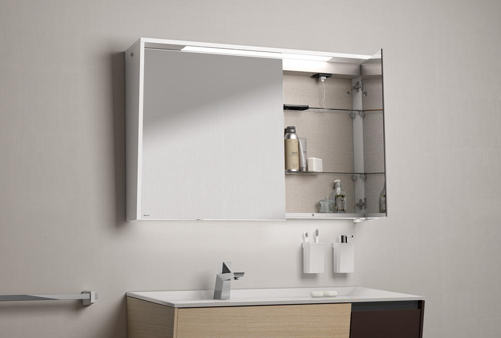 miroir salle de bain avec clairage et prise interesting diamond x collection miroir salle de. Black Bedroom Furniture Sets. Home Design Ideas