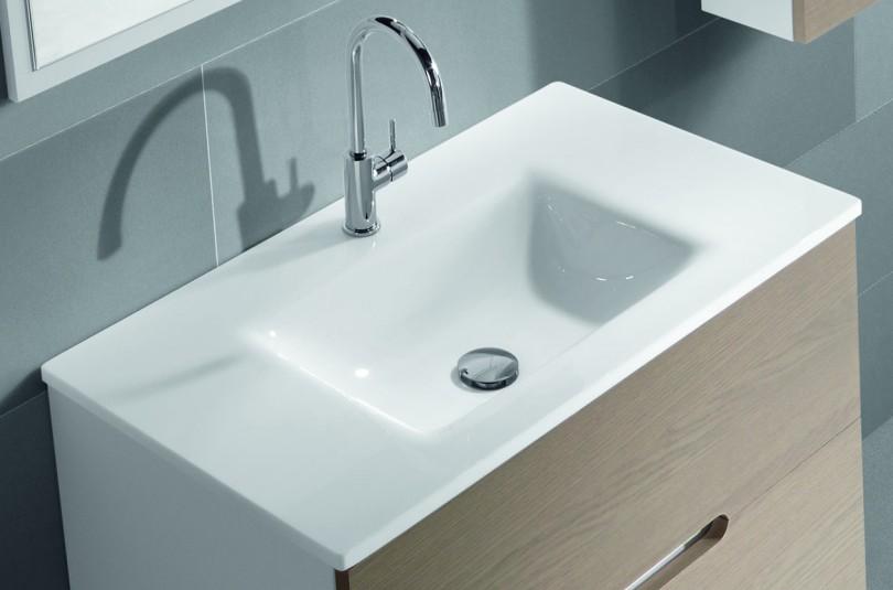 Lavabos Para Baños Cristal:Lavabo de cristal blanco Vidrebany « Aliaga Baños Bcn
